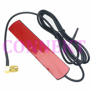 GSM-GPRS-Antenna-433-Mhz-2-5dbi-cable-90-SMA-male-Universal-DAB-Patch-Aerial