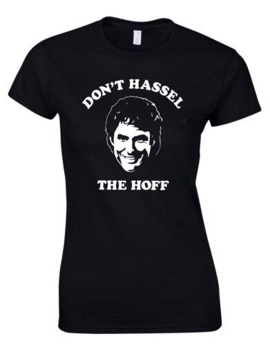 Lied Dont´ T Hassel The Hoff 80er Jahre Movie Film Damen T-Shirt