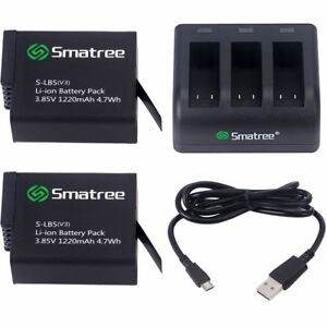 Smatree-Battery-2-Pack-With-3-Channel-Charger-for-Gopro-HERO-6-Black-Gopro-2018