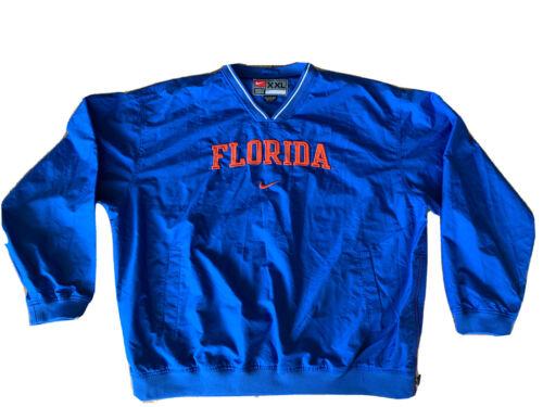 Nike Team Windbreaker V Neck Pullover Jacket Flori