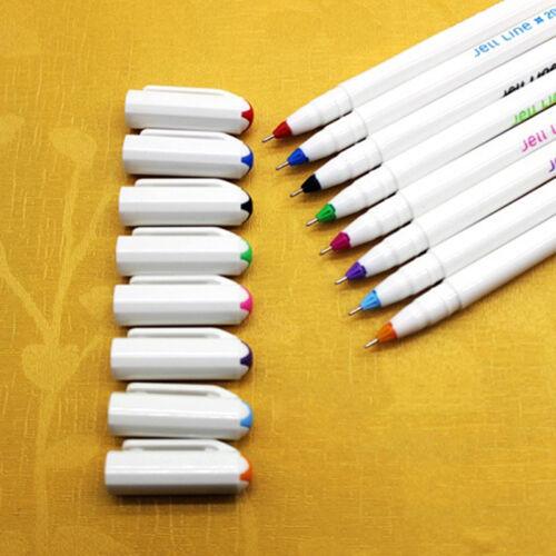 8Stk Aquarell Pen Gel Stifte Bunt Kandelia Briefpapier Gelkugelschreiber Se R2M1