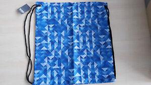 Sportbeutel Schuhtasche Einkaufstasche Rucksack *NEU* blau