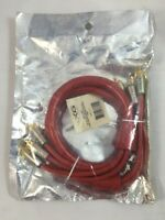 3ft Nxg Technology Nxr-6021 24k Gold Stereo Video Audio Optical Rca Cable