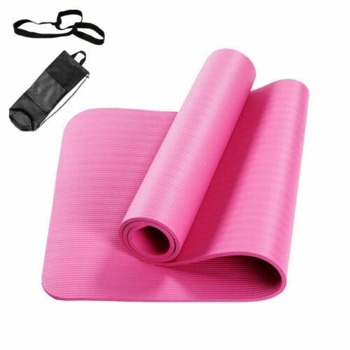 Pilates Yogamatte Fitnessmatte Gymnastikmatte Sportmatte Matte Yoga 1//1.5CM DE