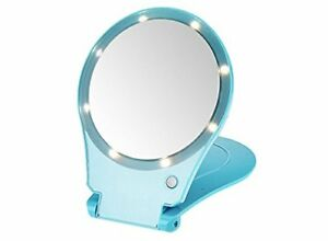 Floxite 5x Magnifying 360 Degree Lighted Folding Home
