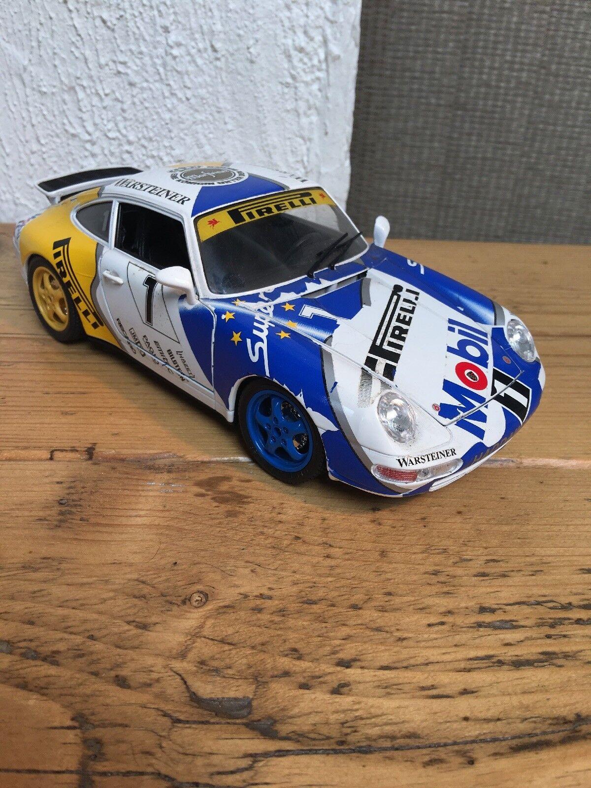 Burago 1 18 Porsche 911 Carerra 1993 HADDAWAY