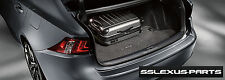 Lexus IS200T IS250 IS350 (2014-2016) OEM Genuine CARPET TRUNK MAT (Charcoal)