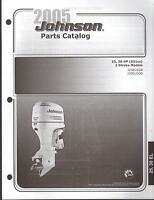 2005 Johnson Outboard Motor 25 & 30 Hp 2 Stroke Parts Manual (575)