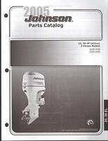 2005 Johnson Outboard Motor 25 & 30 Hp 2 Stroke Parts Manual (575)