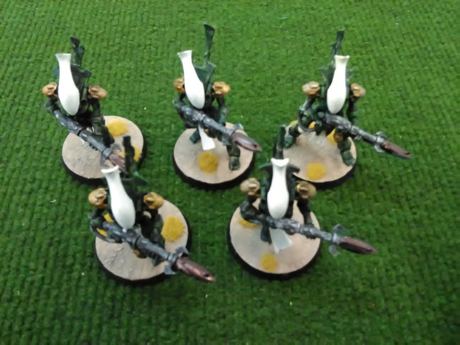Warhammer  40k Eldar Wraithguard Painted (5 modellololos)  vendita con alto sconto