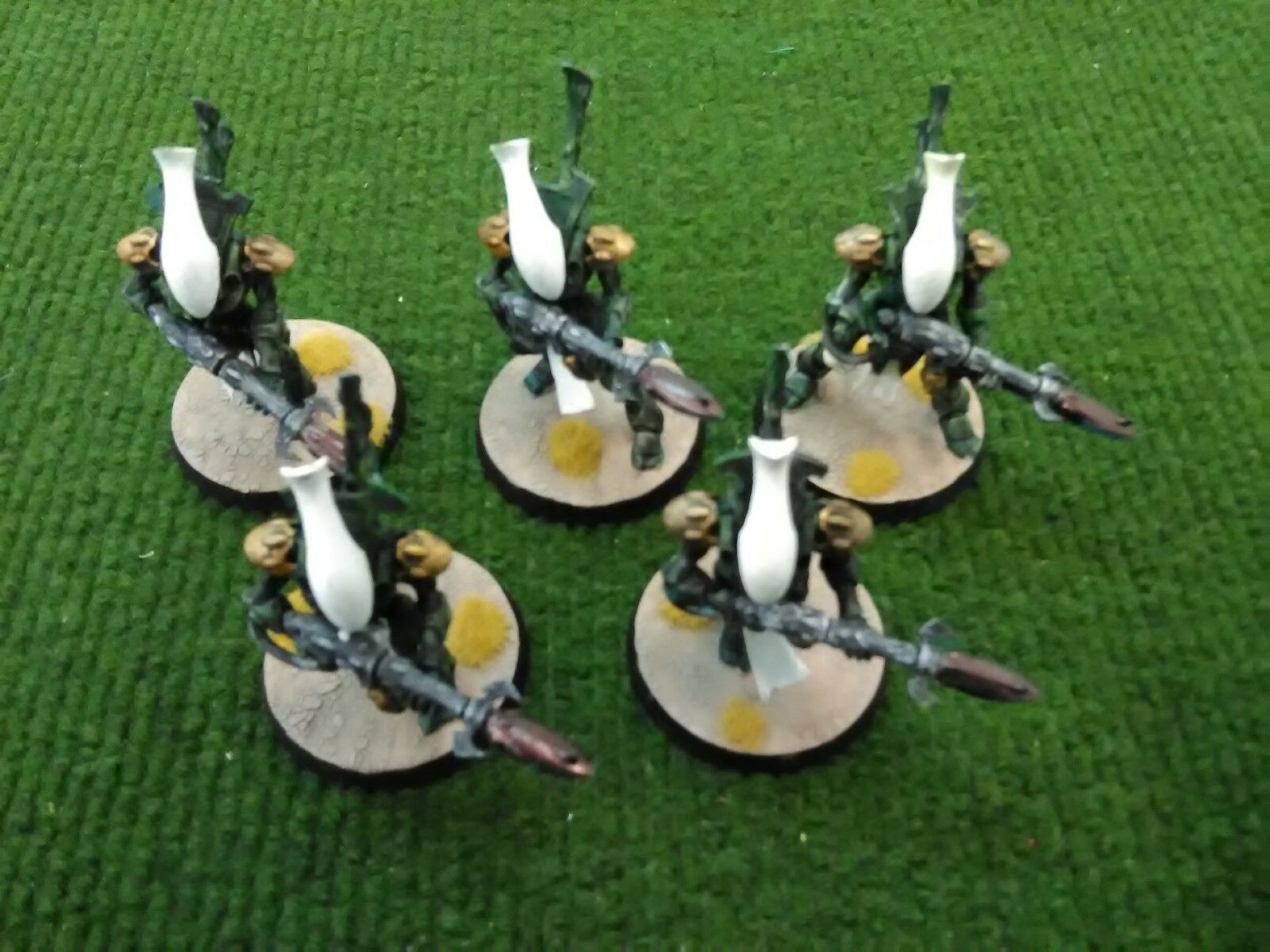 Warhammer 40k Eldar Wraithguard Painted (5 Models)