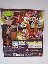Naruto Shippuden Swing Keychain Gashapon Toy Machine Paper Card Bandai Japan