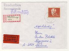 DDR - Nr. 254 2 Mark PIECK in seltener portorichtiger VERWENDUNG - ANSEHEN