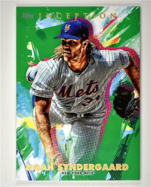 2020 Inception Base Green #44 Noah Syndergaard - New York Mets