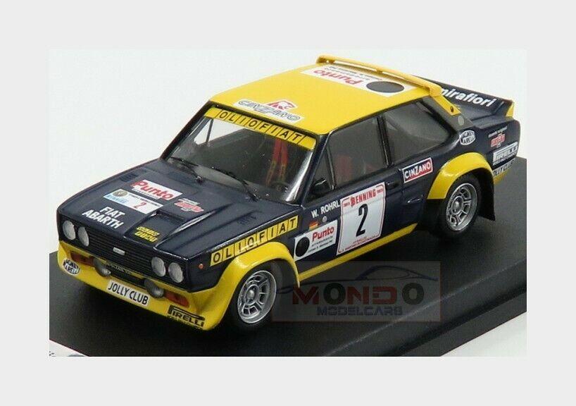 gran selección y entrega rápida Fiat 131 Abarth  2 Rally San Martino Martino Martino Di Castroza  1977 TROFEU 1 43 TRRIT01  Todo en alta calidad y bajo precio.