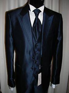 54 Suit Pignatelli Designer Wedding Groom Italian Firmato Sposo Carlo Abito T qREx6wHC64