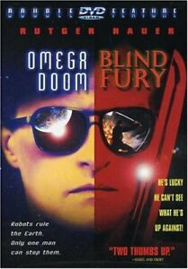 Blind-Fury-Omega-Doom-DVD-2000-Double-Feature-Rutger-Hauer