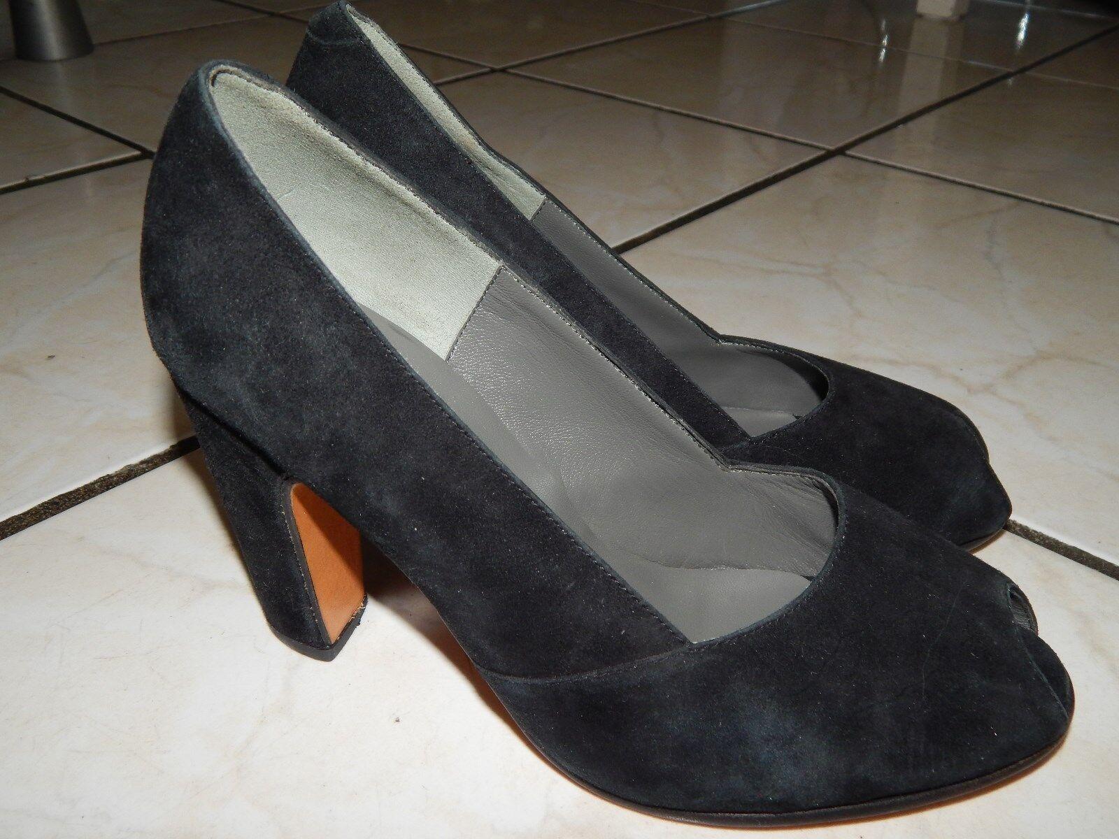 SELVE Loafers Mokassins Handmade Halbschuhe Ballerinas Handmade Mokassins Gr. 36,5 Echt Leder (13) 8f06da