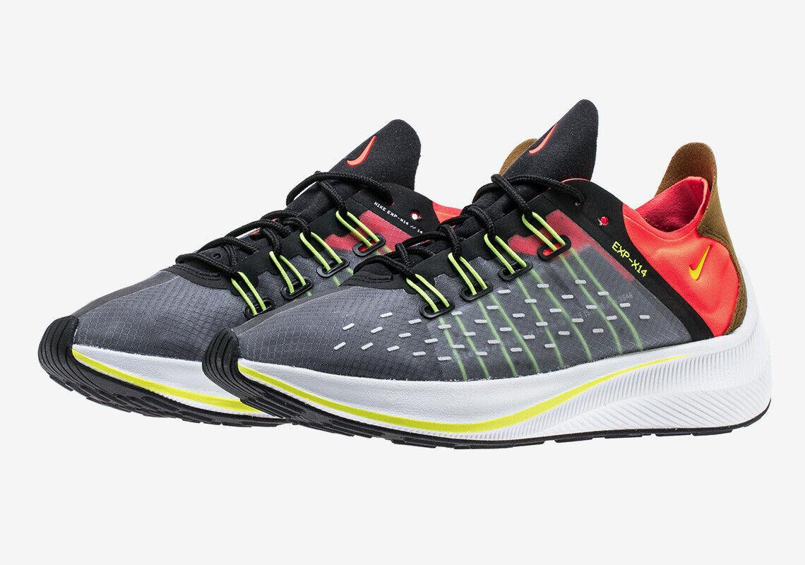 Nike Nike Nike EXP-X14 size 11. Black Crimson Red orange. AO1554-001. air max vapormax aee1d6