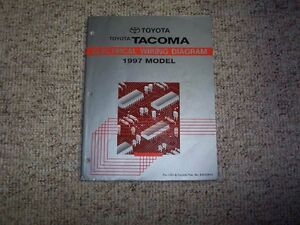 1997 Toyota Tacoma Truck Electrical Wiring Diagram Manual ...
