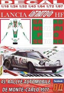 DECAL LANCIA STRATOS HF S.MUNARI R.MONTECARLO 1977 WINNER (06)