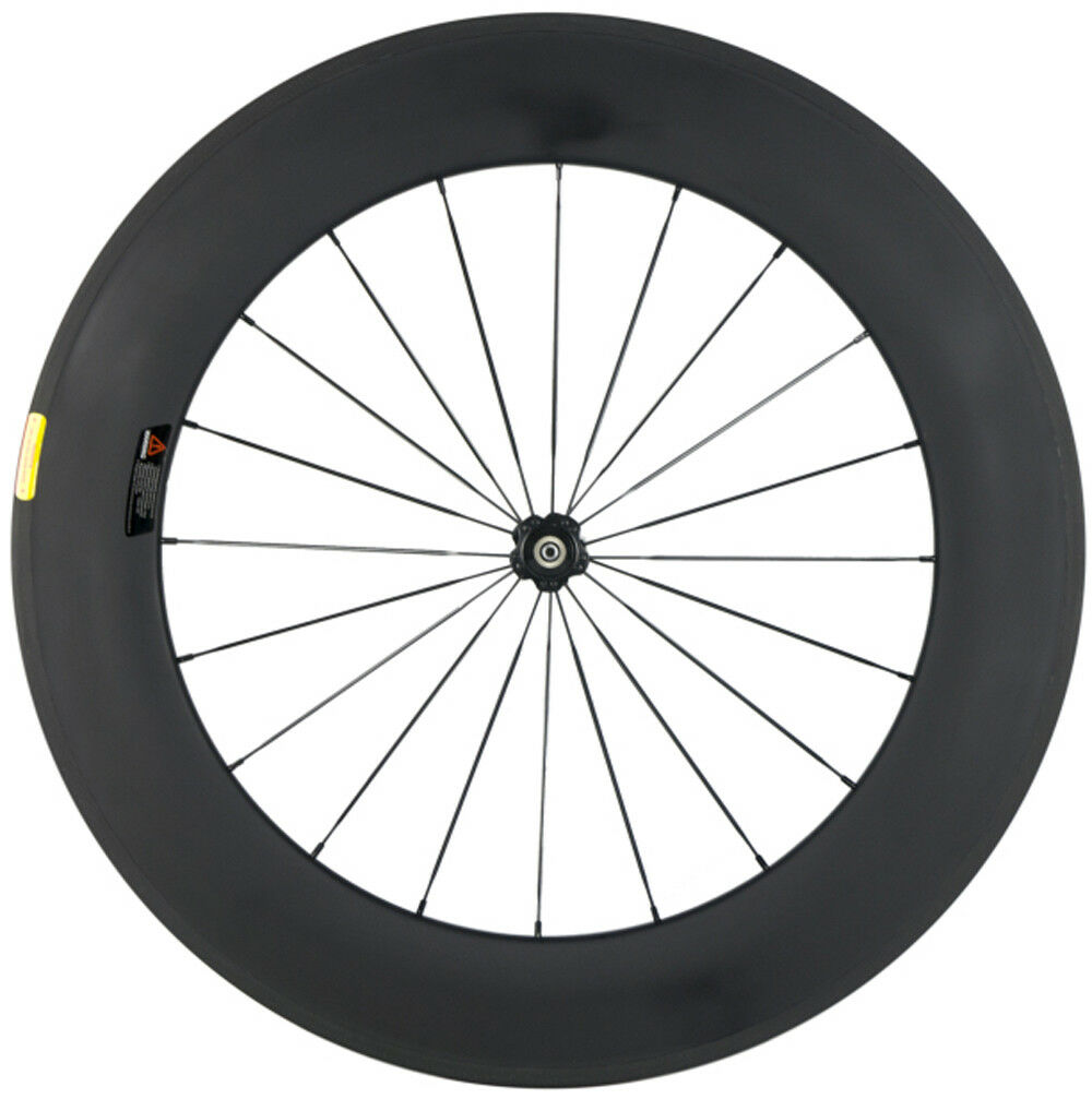 88mm Carbon Wheel Front Wheel Novatec 271 Hub 700C Clincher Road Bike Cycling