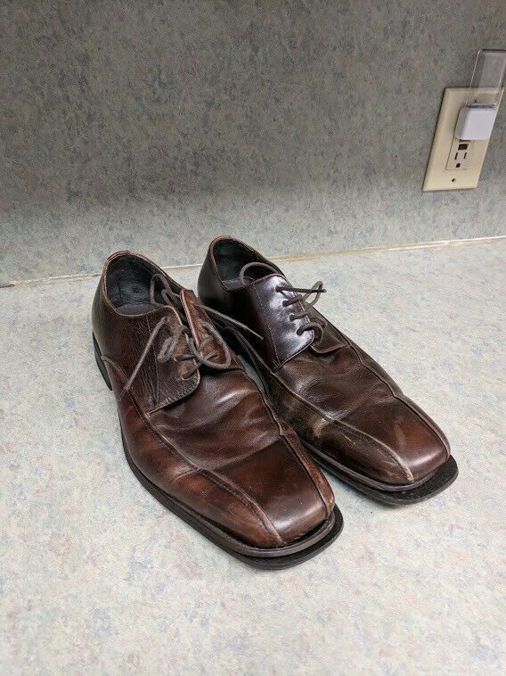 Stafford Signature Men's Leather Oxford shoes - Bicycle Toe
