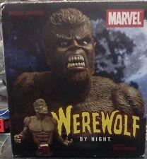 Marvel Universe Werewolf By Night 32 Bust statue figurine Diamond select