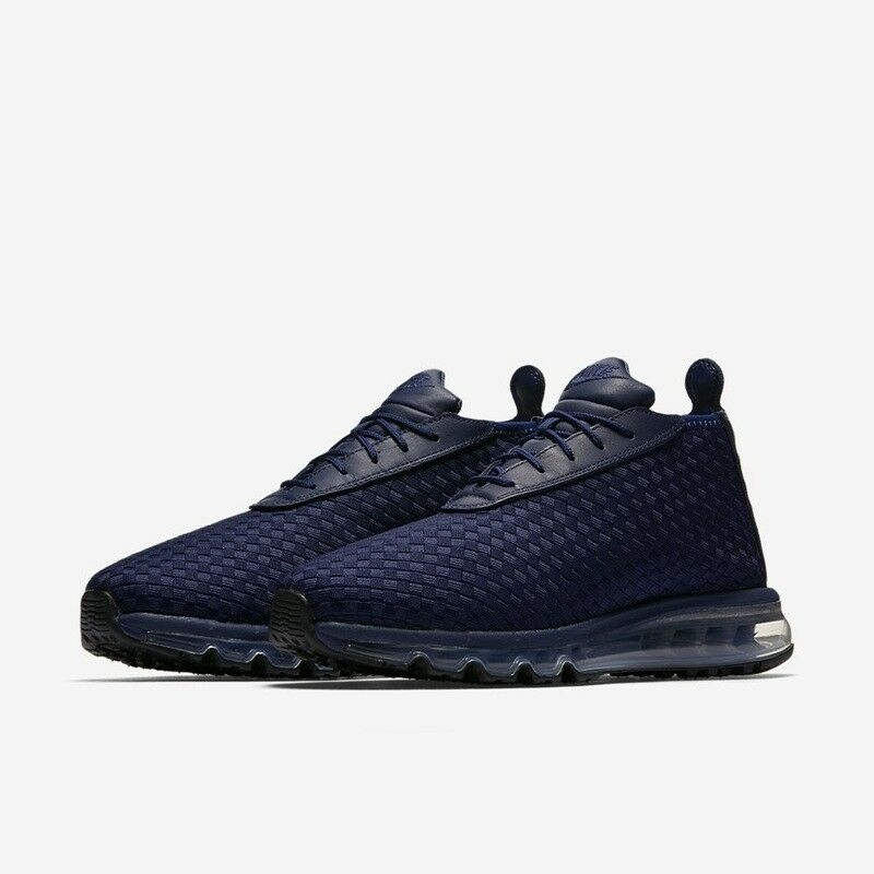Mens Nike Air Woven Boot 921854 400 Midnight Navy Brand New Size 8.5