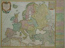 Europe divisee en ses Empires - Europa - Original von Vaugondy / Delamarche 1797