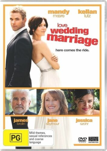 1 of 1 - LOVE, WEDDING, MARRIAGE : NEW DVD