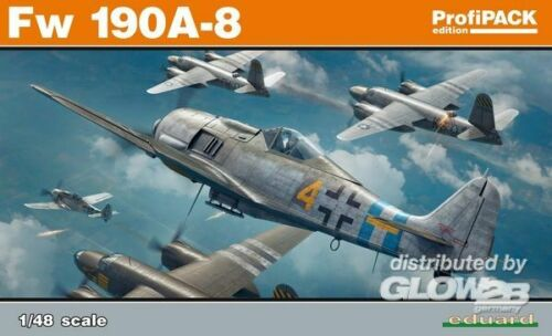 Eduard Plastic Kits Fw 190A-8 3982147 Profipack in 1:48