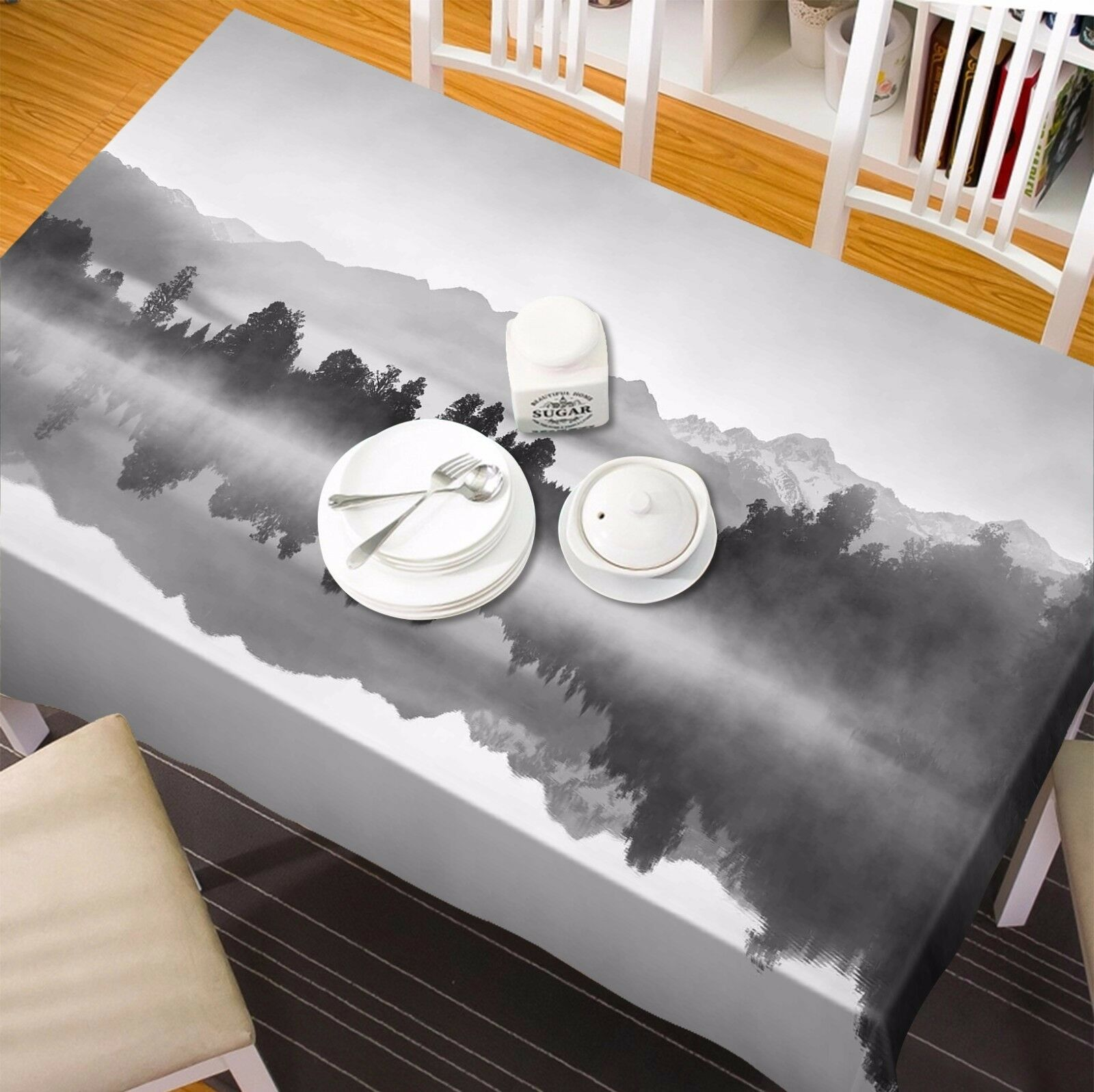 3D Nature 4376 Tablecloth Table Cover Cloth Birthday Party Event AJ WALLPAPER AU