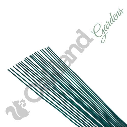 "60cm 500 x 24/"" Split Canes Green Plant Garden Support Flower Sticks Frame"