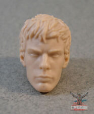 """ML102 Custom Cast Unmasked Peter Parker Spider-Man head use with 6"""" ML figures"""