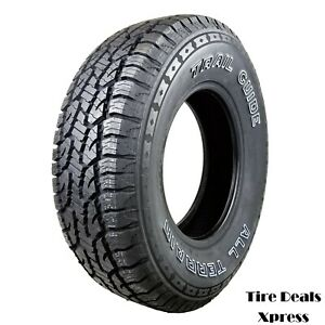 4 (Four) New 235/75R15 Trail Guide All Terrain 109S 2357515 R15 TGT64 Tire