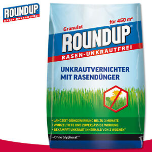 Roundup 9 kg Rasen-Unkrautfrei Unkrautvernichter mit Rasendünger