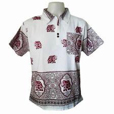 65996ba5bc954 item 6 Mens T-Shirt 100% Cotton Thai Hippie V-Neck Elephant Print Casual  Polo Shirt Top -Mens T-Shirt 100% Cotton Thai Hippie V-Neck Elephant Print  Casual ...