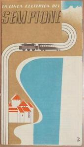 LINEA-ELETTRICA-DEL-SEMPIONE-ITALIA-SVIZZERA-SWITZERLAND-1938-FERROVIA-FERROVIE