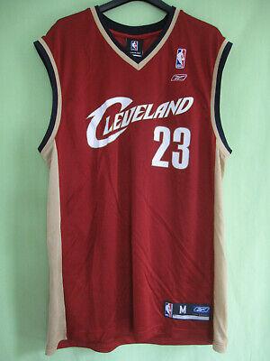 Maillot Cleveland Cavaliers 23# Lebron James Maillots de Basket-Ball pour Hommes et Femmes Maillots r/étro Cool Tissus Respirants