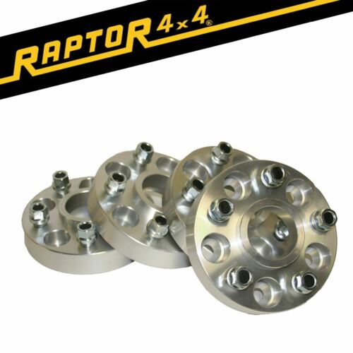 Raptor 4x4 30mm Aluminium Hubcentric Land Rover Discovery 4 Wheel Spacers