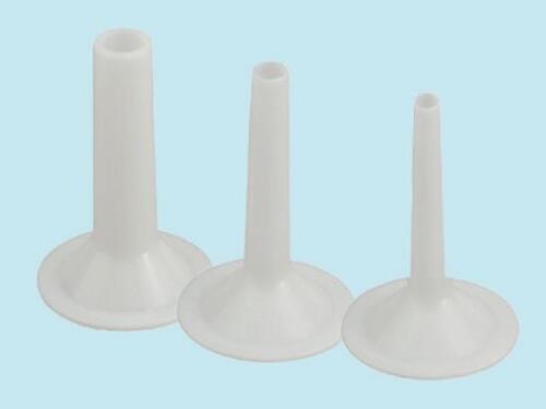 Conf Imbuti insaccatrici per tritacarne Reber N°22 3 pezzi 15-20 - 25 mm.