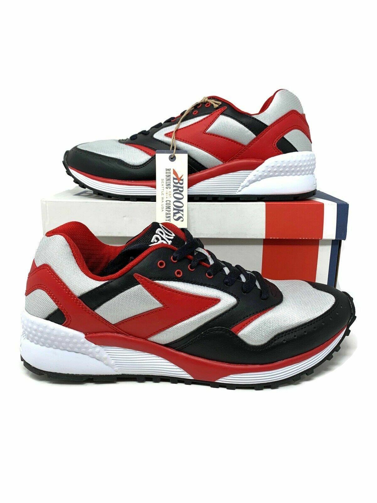 Brooks Mojo Men's 8 8.5 10.5 12 Black True Red Lunar Rock Running Athletic shoes