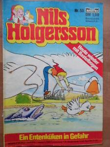 NILS HOLGERSSON Nr. 53 (2) Ein Entenküken in Gefahr Bastei-Comic Astrid Lindgren - Berlin, Deutschland - NILS HOLGERSSON Nr. 53 (2) Ein Entenküken in Gefahr Bastei-Comic Astrid Lindgren - Berlin, Deutschland