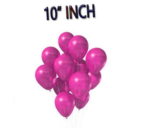 """100 piezas globos de helio perlado de calidad 10/"""" Boda Cumpleaños Fiesta Bautizo"""