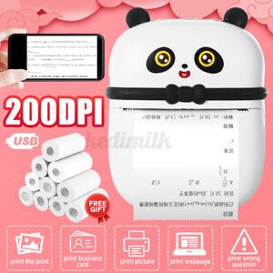 Wireless  Portable Thermal Printer Photo Pocket Photo Printer Printi