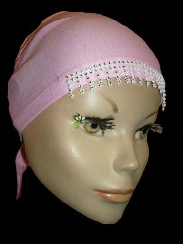 Damen Hijab Kopftuch Bone Untertuch mit Steinchen Tesettür Takschita Abaya