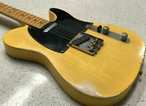 Customzied-RelicTL-Electric-Guitar-Eged-Hardware-ASH-Body-Single-Pickups