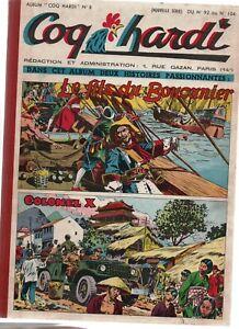 COQ-HARDI-Album-n-8-Nouvelle-serie-n-92-a-104-28-aout-a-20-novembre-1952-RF4