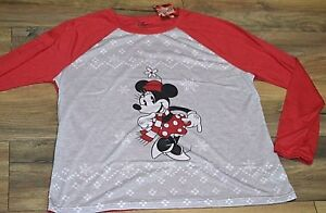 Minnie-Mouse-Christmas-Shirt-Long-Sleeve-Top-Jammies-for-your-Families-DISNEY